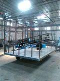 廣東帶護欄平板拖車  拖板車生產廠家