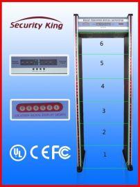 欣賽通 xst-AP2 6區位 防水防火 金屬探測安檢門