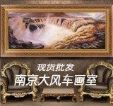 手绘风景油画批发 黄河油画HH-2 南京手工油画