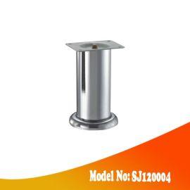 金属沙发脚 电镀铬圆管沙发脚 SJ120004