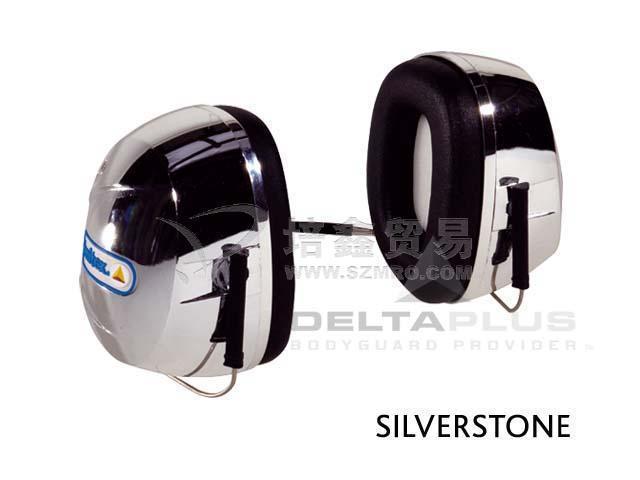 代尔塔颈带型防噪音耳罩(SILVERSTONE2(1.03.011))
