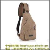 厂家直销韩版休闲男士胸包运动帆布男包小包包多功能户外小包