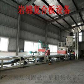 沧州抹面砂浆岩棉复合板 玻璃棉复合板设备价格