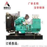 50kw电调无刷康明斯柴油发电机组 稳定发电机