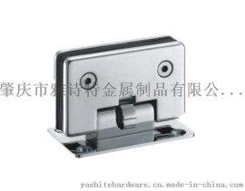 廠家直銷 雅詩特 YST-K001 可定位90度雙邊浴室玻璃夾