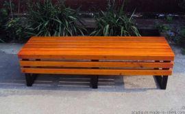 廠家生產定制實木公園長椅戶外休閒長椅花......