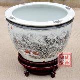 景德镇陶瓷大缸 景德镇陶瓷风水大缸