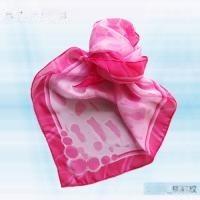 S-028_桃豹紋絲巾