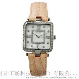 时尚款方型石英女款手表