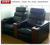 影院沙发影吧包间 软体皮质沙发 家庭单人影院沙发 影院功能沙发