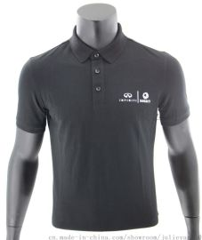 高端订制系列英菲尼迪POLO衫高端汽车品牌服装合作商企业服装订制