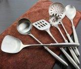 304不锈钢厨具 6件套家用厨具 磨砂柄厨具 不锈钢锅铲
