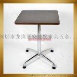 四爪餐桌安捷妮家具工厂直销高745可定做高度AJN-TB676