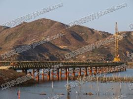 江苏贝雷 贝雷桥应用 100型贝雷桥-广州夏深铁路
