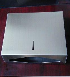 不锈钢擦手纸箱 洗手间干手纸器 装一包擦手纸厕纸架