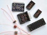 网络变压器是用来传输数据和隔离网线连接的不同网络设备间的不同电平