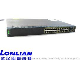 cisco WS-C2960-24TT-L思科二層網路交換機