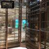 不鏽鋼酒架定制 紅酒架子展示架 金屬紅酒架擺件多層酒架304玫瑰金