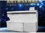 郑州蓝天无烟净化环保烧烤车|无烟烧烤车厂家
