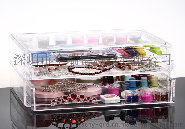 生活日用品亚克力展示盒 亚克力透明礼品收纳盒防尘盒定做 有机玻璃珠宝盒厂家定制