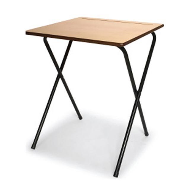 厂家直销学生折叠考试桌
