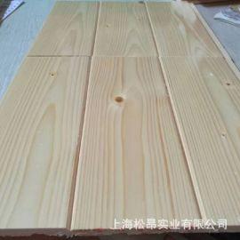 松木免漆桑拿板