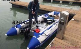 冲锋舟充气橡皮艇漂流船钓鱼船救援艇