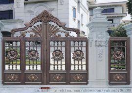 上海優質鋁藝大門,專業生產制作鋁藝大門護欄