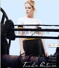 杭州品牌折扣女装批发卡拉贝斯外贸原单尾货