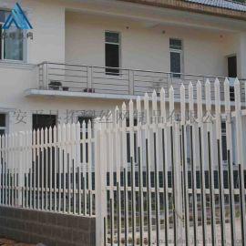 PVC草坪圍欄_街道綠化塑鋼護欄