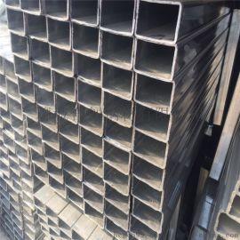 戰狼牌q235b材質鍍鋅方矩形鋼管40*20熱鍍鋅方矩管