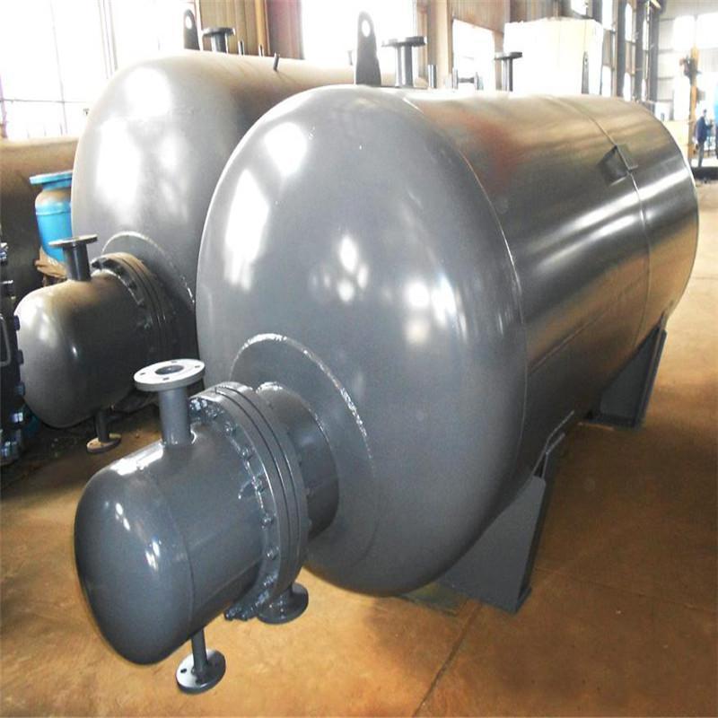 厂家直销半容积式换热器立式容积式换热器水水换热器图片