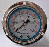 无锡科佳带边盘装防震压力表