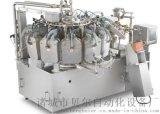 诸城贝尔550型自动真空包装机-食盐粉剂电子称重真空包装机