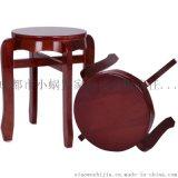 家用加厚實木圓凳子椅子廠家批發銷售