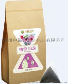 茶饮原料批发中福合和茶叶三角茶包散茶批发