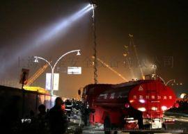 上海河圣大型便携式升降泛光灯设备