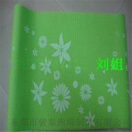 工厂常年生产直批花纹瑜伽垫加送背包