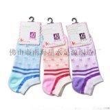 春夏新款透氣吸汗防臭女船襪 時尚創意圓點襪低幫百搭全棉女襪