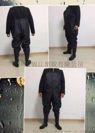 0.65mmPVC/针织标下水裤