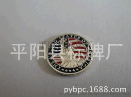 平阳标牌厂厂家专业定做自由女神金属商标 标牌 铭牌
