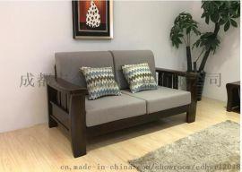 新中式沙發禪意沙發家具定制現代中式實木家具