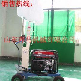 奔马SMLV户外施工专用移动工程照明灯车 可折叠方便运输 可长时间连续工作