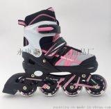 818经典全闪轮滑鞋
