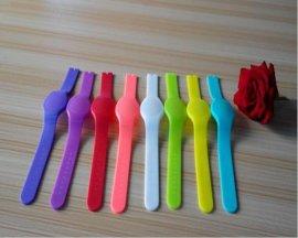 圆形硅胶手表带