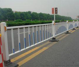 道路安全防护栏 隔离围栏 交通设施围墙栅栏 规格可定制 锌钢护栏