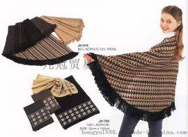 絲質格紋披肩保暖透氣款式多樣