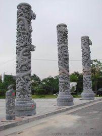 广场文化柱广场图腾柱广场龙柱