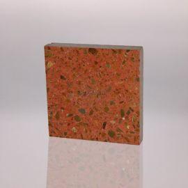 水磨石地面重庆人行步道石砖彩色人造石面砖
