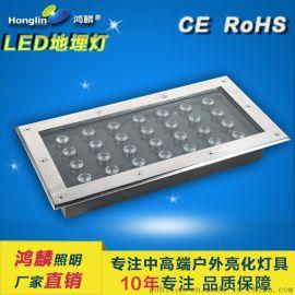 方形LED地埋灯_36W方形地埋灯